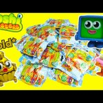Moshi Monsters Food Factory Blind Bags with Gold Ultra Rares and Microwave