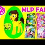 My Little Pony Blind Bags with Cheese Sandwich Play Doh Surprise Egg