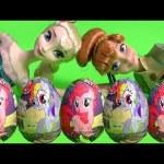 My Little Pony Chocolate Surprise Easter Eggs MLP Mi Pequeño Poni Huevos Sorpresa DisneyCollector
