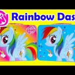 My Little Pony Rainbow Dash Tin Activity Set