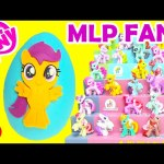 My Little Pony Scootaloo Play Doh Surprise Egg with Cutie Mark Crusaders