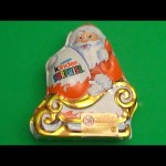 NEW GIANT Kinder Surprsie Santa!  With a SURPRISE Toy Inside!!!