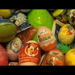 NEW Huge 101 Surprise Egg Opening Kinder Surprise Disney Cars Frozen Mickey Minnie Mouse Hello Kitty