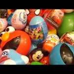 NEW Huge 101 Surprise Egg Opening Kinder Surprise Spider-Man Disney Frozen Mickey Minnie Mouse