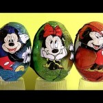 New Mickey Mouse Surprise Eggs with Minnie Mouse Chocolate Sorpresa Huevos! Disneycollector