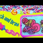 New ORBEEZ CRUSH and Draw Mermaid Art + Magic Orbeez Crush Pen Toy Review by DisneyCarToys