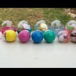 Open 11 Toy Eggs