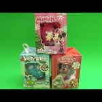 Opening 3 Surprise Christmas Ornaments Filled with Candy!  Disney Minnie Mouse Angry Birds!