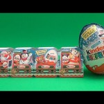 Opening a Christmas Kinder Surprise Egg Train! And a Giant Kinder Surprise Egg!