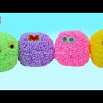 PLAY FOAM Surprise Eggs Toys for Kids Shopkins Minions Hello Kitty  Lalaloopsy  Fancy Foam