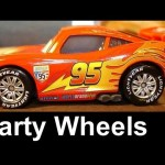Party Wheels Lightning Mcqueen Cars 2 Disney Francesco Bernoulli diecast exclusive