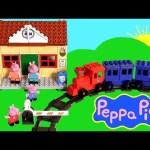 Peppa Pig Blocks Mega Train Station Blocks – Estación de Trenes Juguete de Construcciones Bloques