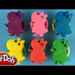 Peppa Pig Play Doh Surprise Toys Mickey Mouse Disney Inside Out Shopkins Jake the Never Land Pirates