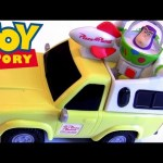 Pizza Planet truck pull and go Toy Story Buzz Lightyear Disney Figure Pixar toy review