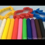 Play and Learn Colours with Play Doh for Children