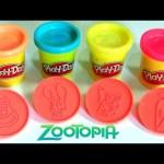 Play Doh Disney Zootopia Stampers Playset – Mold Rabbit Judy ❤ Fox Nick from Zootopia Super Massa