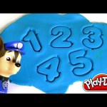 Play Doh Fun with Numbers Bucket Learn Colors and Numbers with Paw Patrol
