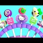 Play Doh Hello Kitty Lollipop Maker – Pâte à Modeler Faire de Sucettes et Bonbon Surprise pirulí