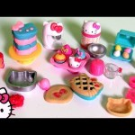 Play Doh Hello Kitty XOXO Baking Fun Set Donuts Patisserie  キャラクター練り切り ハローキティ  Kitchen Baking Toy