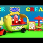 Play-Doh Ice Cream Holiday Van of Peppa Pig Nickelodeon Carrito de Helados de PlayDough 2015