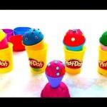 Play doh ice cream making. Videofor kids