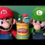 Play Doh Mario Bros. Luigi & Guido Disney Pixar Cars Nintendo Video Game Play Dough Disneycollector