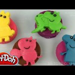 Play Doh Peppa Pig with Beautiful Surprise Toys