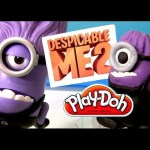 Play Doh Purple Minion Despicable Me 2 Build A One Eyed Purple Minion Action Figure Talking Dave