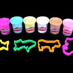 Play-Doh  Sparkle Confetti compound modeling  animals  shapes fun and creative for kids.