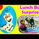 Play Doh Surprise Olaf and Frozen Lunch Bag Surprises