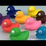 Play Dough Ducks with Molds Fun & Creative for Kids and Children