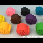 Play Dough Fish with Molds Fun and Creative for Kids