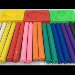 Play & Learn Colours with Modelling Clay for Kids