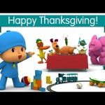 Pocoyo and his friends celebrate Thanksgiving!