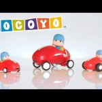 Pocoyo Toys: Discover and play with Pocoyo's race cars!