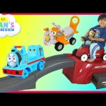 Radio Flyer 500 Roller Coaster ride for kids Thomas and Friends Disney Cars Toys