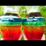 Rainbow Jello Surprise Toys | Shopkins Giant Slime Jello Opening | DCTC Kid Videos