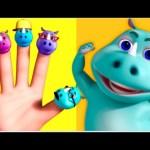 Rhino Finger Family 3D Rhymes | Finger Family 3D Rhymes | Nursery Rhymes For Kids