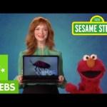 Sesame Street: Elmo and Christina Hendricks Discuss Technology