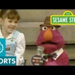 Sesame Street: Telly Interviews a Big Sister