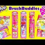 Shopkins and My Little Pony Brush Buddies