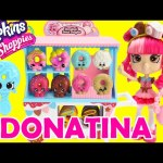 Shopkins Donatina's Donut Delights Shoppie Doll Playset with 4 Mini Donuts and Exclusives
