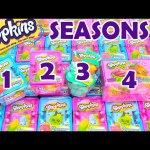 Shopkins Season 1 2 3 4 Blind Baskets Opening Toy Genie Surprises