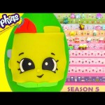 Shopkins Season 5 Blocky Play Doh Surprise Egg Limited Edition Hunt Toy Genie