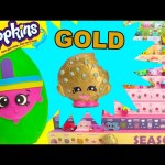 Shopkins Swapkins GOLD Kooky Cookie and Spinderella Limited Edition Hunt