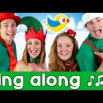 Sing along Jingle Bells, with lyrics! Kids Christmas songs