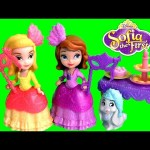 Sofia the First Masquerade Dress Up Party with Princess Amber in Sofia's Magical Talking Castle 2015