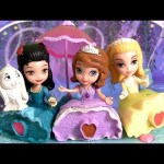 Sofia the First with Friends Set Disney Princess Amber & Hildegard Play Doh Review Disneycollector