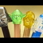 Star Wars Darth Vader Yoda C-3PO and R2-D2 PEZ Candy Dispensers Limited Edition