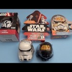 Star Wars Party!  Opening a New Collection of Star Wars Surprise Egg and Candy!
